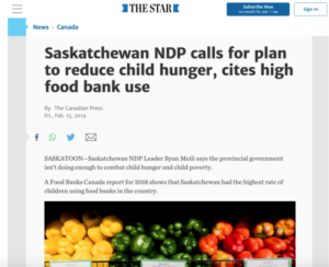 food banks canada hungercount