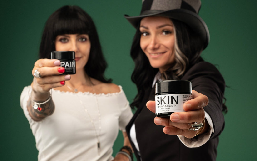 """The Wellness Duo"" Tijen Yalchin and Ashley Short celebrate 10 years of holistic cannabis company Earth Kisses Sky"