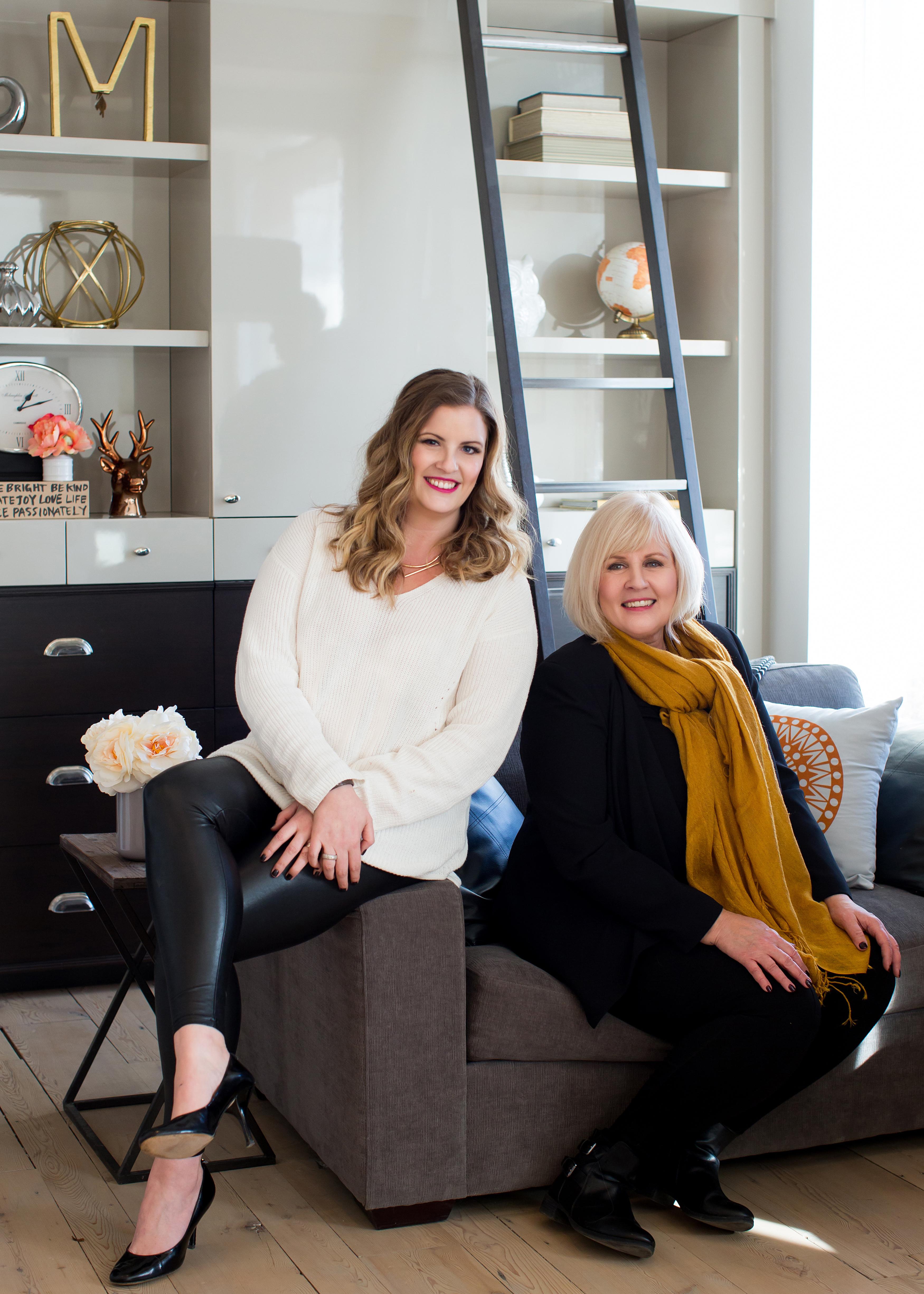 Katie Pringle and Bridget Hoffer