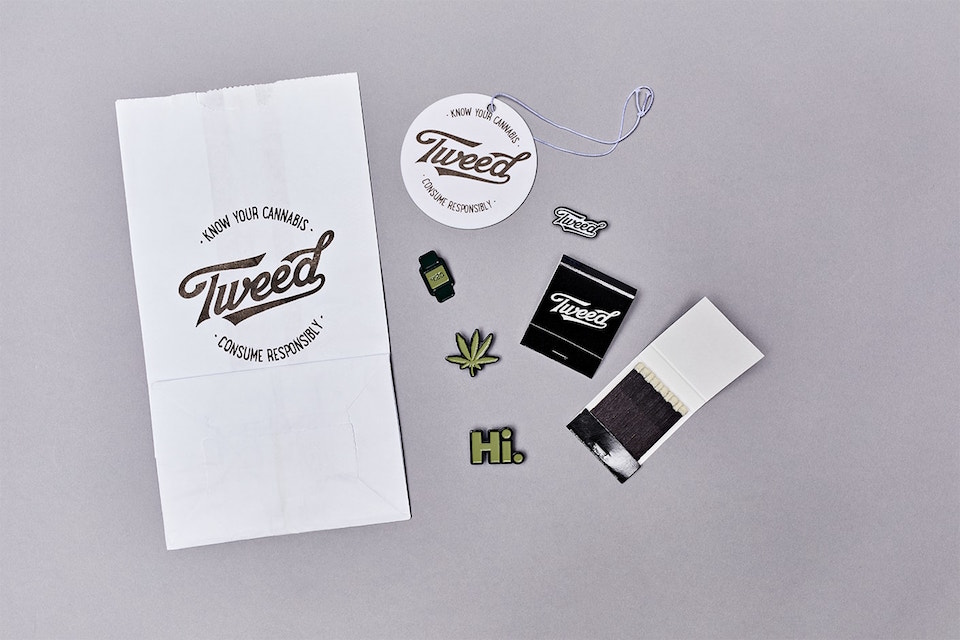 tweed branded swag event marketing for cannabis brands