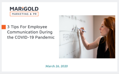 3 Tips For Employee Communication During the COVID-19 Pandemic