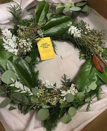 Pure sunfarms wreath
