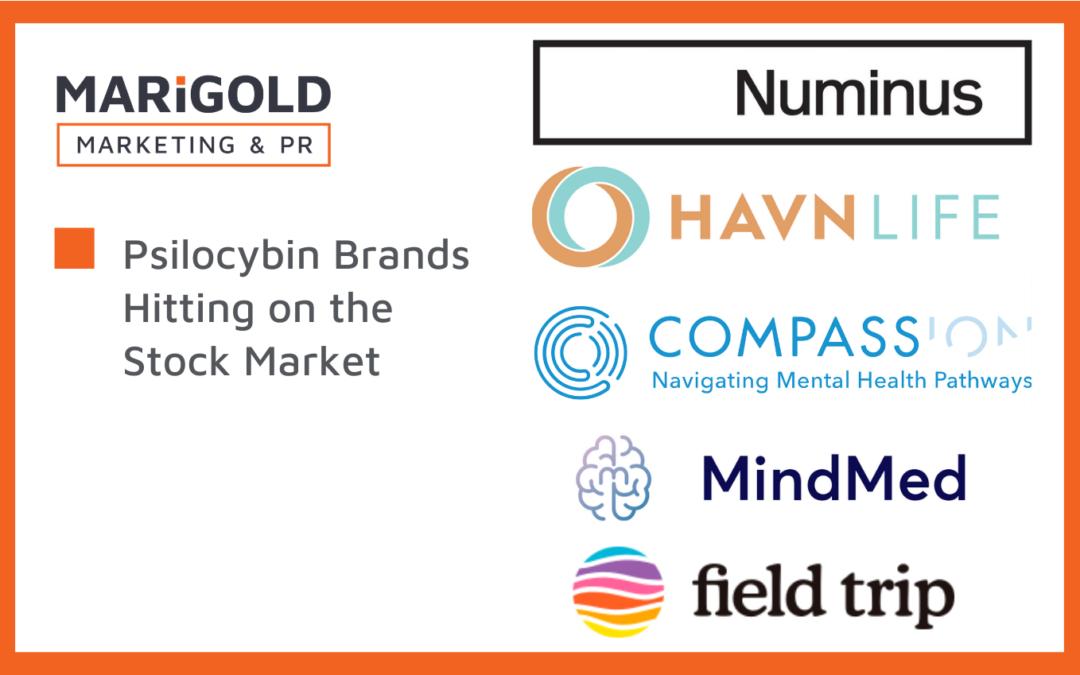 Psilocybin Brands Hitting on the Stock Market