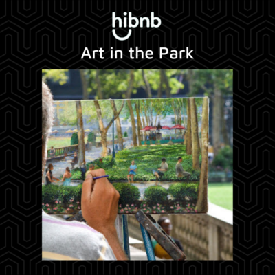 hibnb art in the park